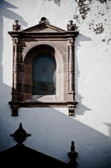 Free Stock Photo of Old church window