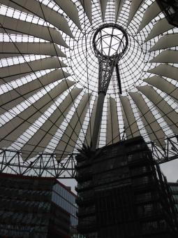 Free Stock Photo of Sony Center Berlin