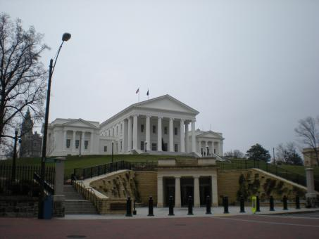 Free Stock Photo of Virginia State Capitol