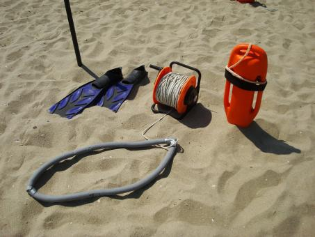 Free Stock Photo of Lifeguard gear