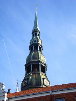 Free Stock Photo of Saint peter's church of Riga