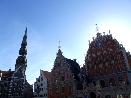 Free Stock Photo of Town Hall square of Riga