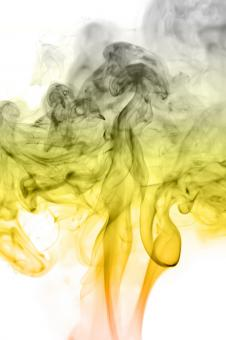 Free Stock Photo of Yellow and Gray Smoke
