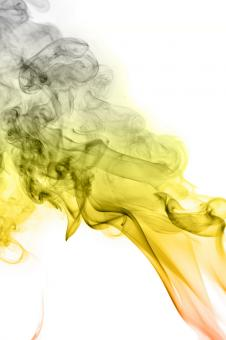 Free Stock Photo of Yellow Smoke Background