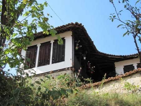 Free Stock Photo of Old traditional Bulgarian house