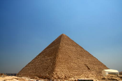 Free Stock Photo of Pyramid