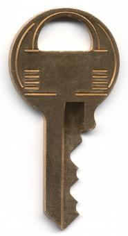 Free Stock Photo of Metal Key