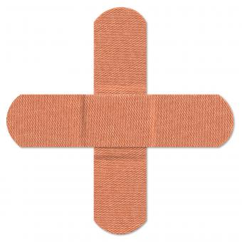 Free Stock Photo of Cross Bandages