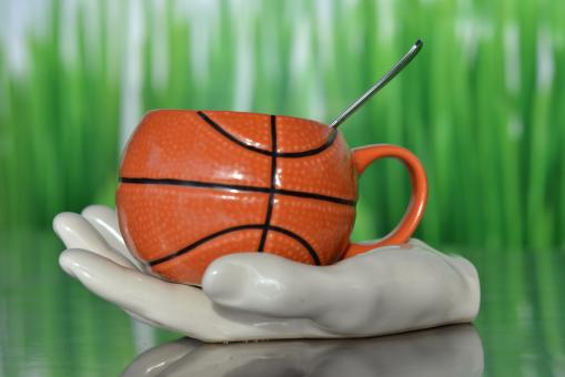 Free Stock Photo of Unique Basket Cup
