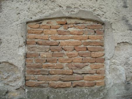 Free Stock Photo of Brick window