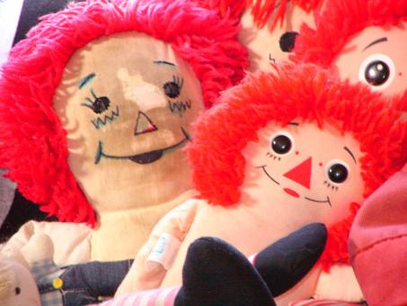 Free Stock Photo of Rag Dolls