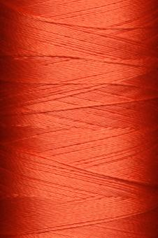 Free Stock Photo of Red Yarn Threads
