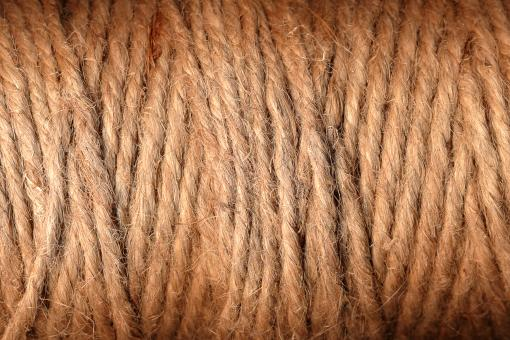 Free Stock Photo of Brown Yarn Threads