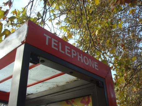 Free Stock Photo of Telephone booth