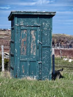 Free Stock Photo of Outhouse