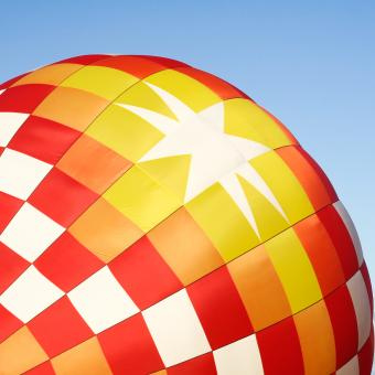 Free Stock Photo of Hot Air Balloon Close-up