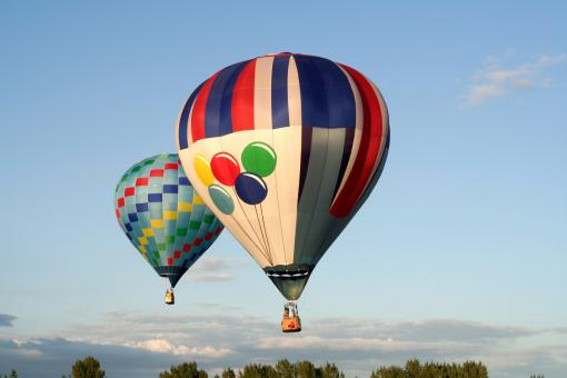 Free Stock Photo of Hot Air Balloons