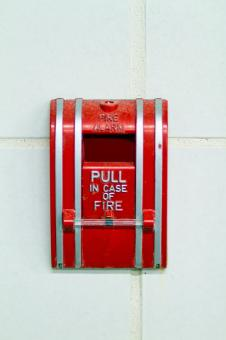 Free Stock Photo of Fire Alarm
