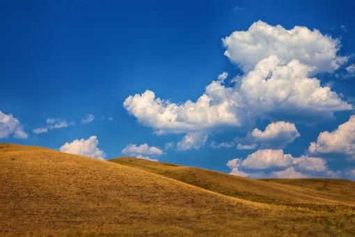 Free Stock Photo of hills