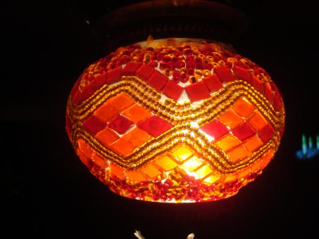 Free Stock Photo of Hand made lamp