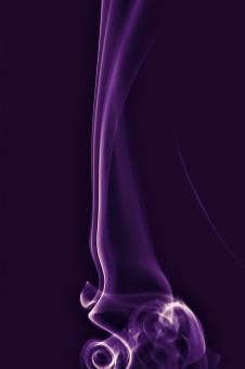 Free Stock Photo of Purple smoke