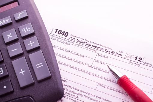 Free Stock Photo of Taxes