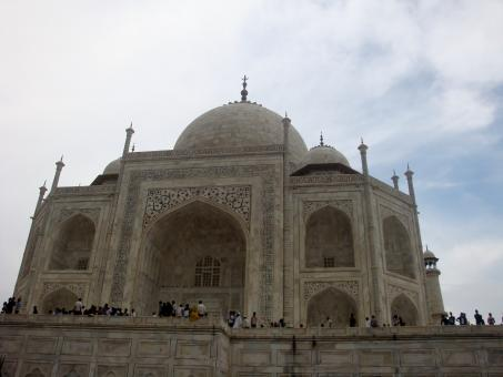 Free Stock Photo of Tajmahal Close view