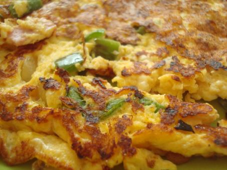 Free Stock Photo of Home made omelette