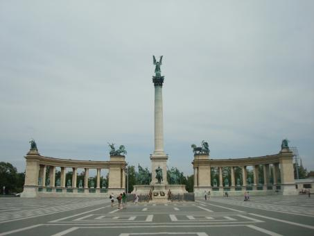 Free Stock Photo of Heroes square in Budapest