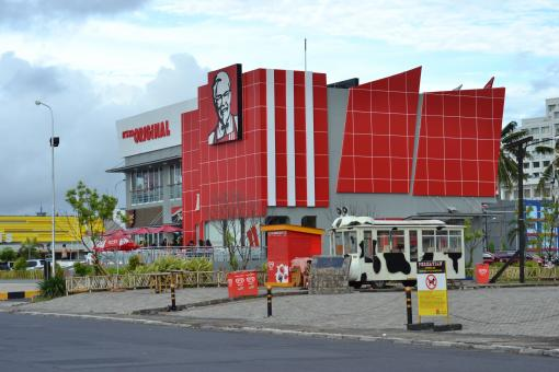Free Stock Photo of KFC Megamal Manado