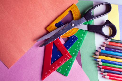 Free Stock Photo of Art Supplies