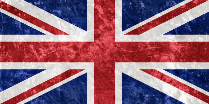 Free Stock Photo of UK Grunge Flag