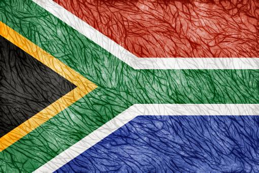Free Stock Photo of Grunge Threaded Flag - South Africa