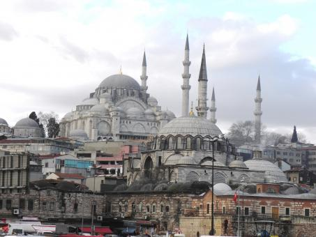 Free Stock Photo of  Suleymaniye Mosque  a face of Istanbul