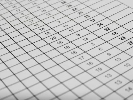 Free Stock Photo of Excel Spreadsheet Data