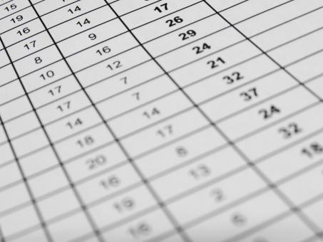 Free Stock Photo of Excel Data