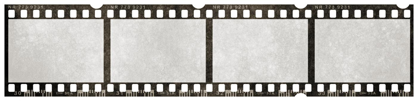 Free Stock Photo of Blank Grunge Film Strip