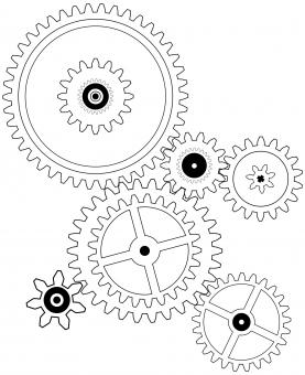 Free Stock Photo of Gears