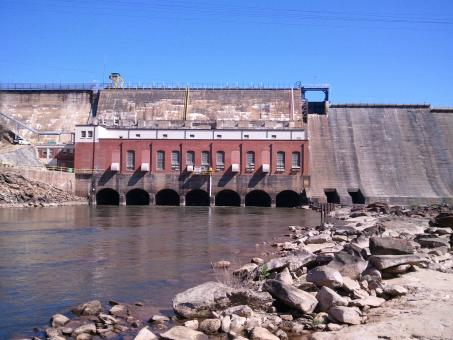 Free Stock Photo of Electric Power Dam