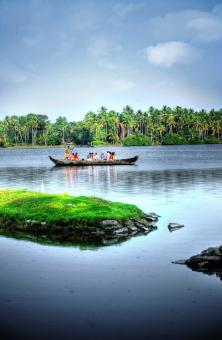 Free Stock Photo of Back water in Kerala