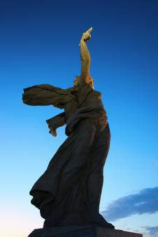 Free Stock Photo of Motherland Calls