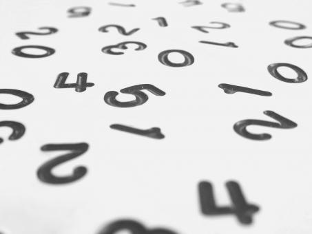 Free Stock Photo of Random Numbers