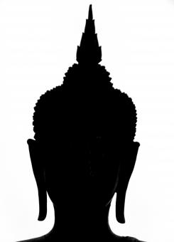 Free Stock Photo of Buddha Silhouette