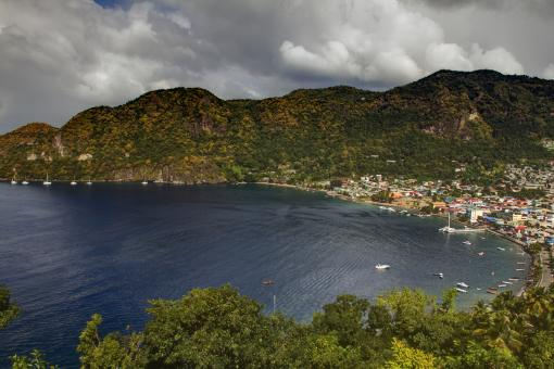 Free Stock Photo of St. Lucia Landscape