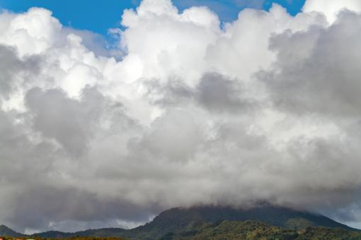 Free Stock Photo of St. Lucia Clouds