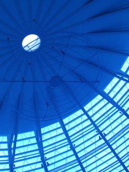 Free Stock Photo of Glass Dome Interior