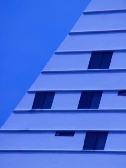 Free Stock Photo of Abstract Slanted Building