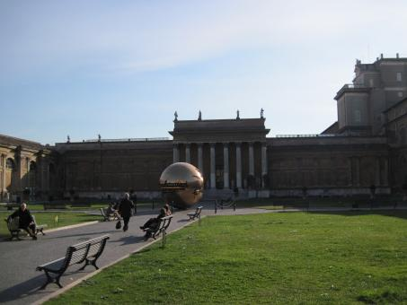 Free Stock Photo of Vatican museum garden