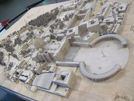 Free Stock Photo of Vatican complex model