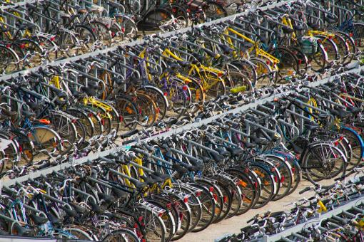Free Stock Photo of Bicycles